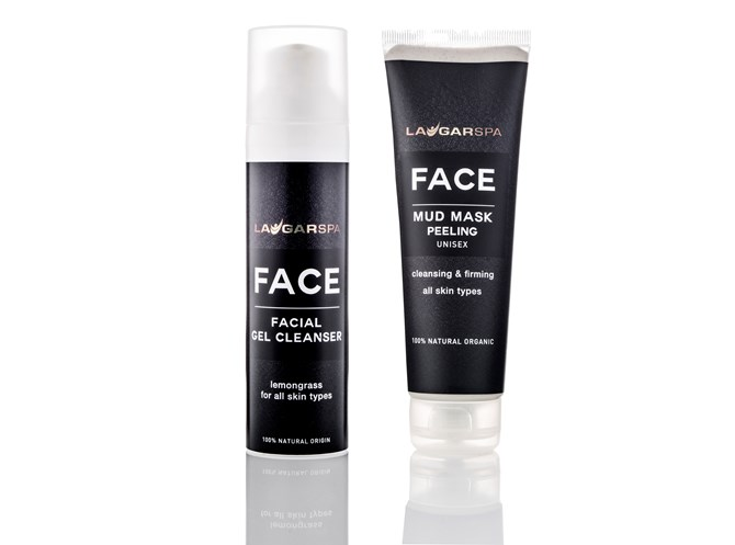 FACE Facial Gel Cleanser og Mud maski