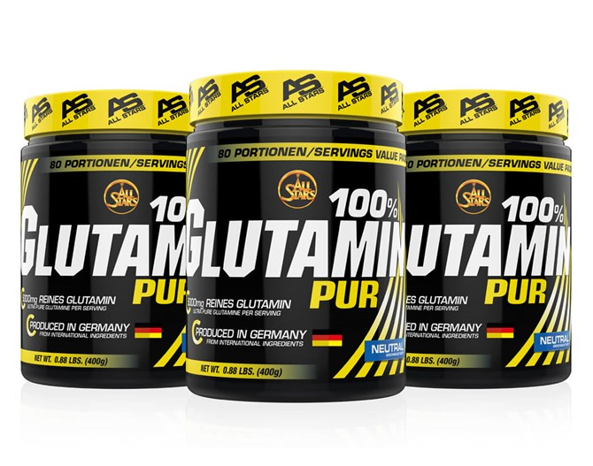 All-Stars Glutamin Pure Powder 400 gr.