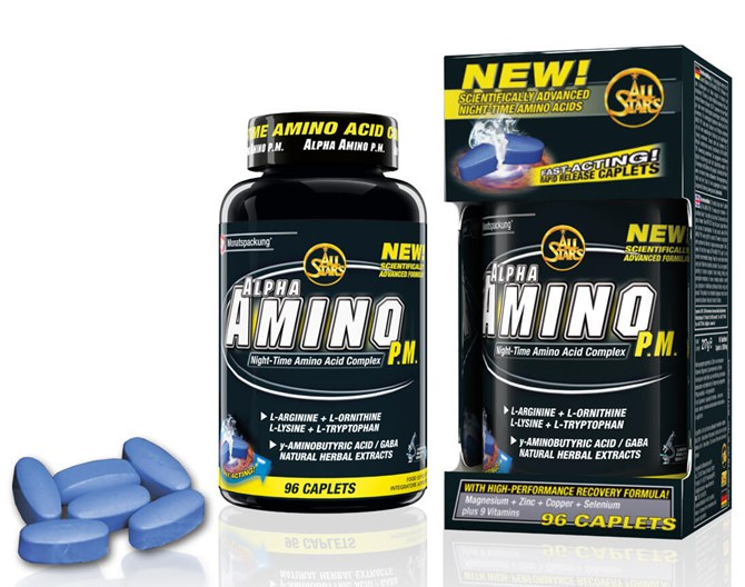 All-Stars Alpha-Amino P.M. 96 Caplets